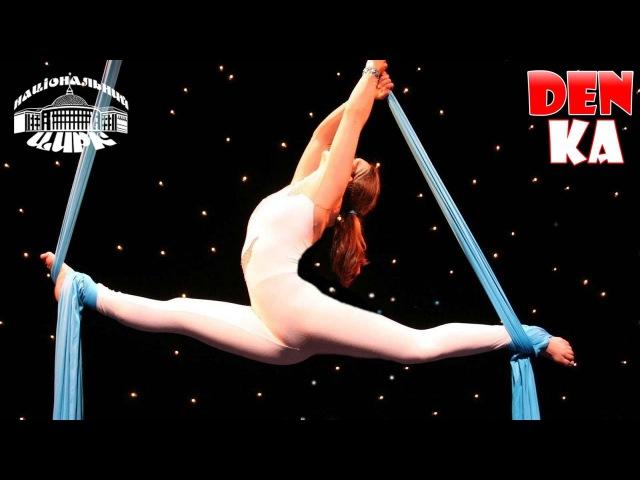 Самый нежный номер! Воздушная гимнастка на полотнах | Цирк на Воде | Национальный...