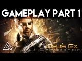 Deus Ex Mankind Divided Gameplay Part 1 - First 30 Minutes (PC Ultra)