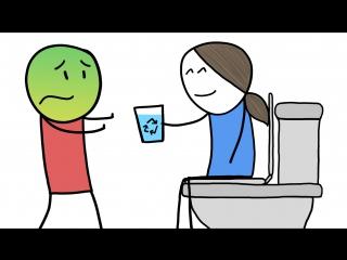 Смогли бы вы выпить воду, полученную из нечистот