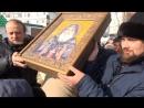 В Новокуйбышевском храме - новая икона и частица мощей святого Гавриила. Новокуйбышевское ТВ
