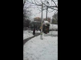 Жесть из Люберец. 9.02.2017. Пострадавшая жива, лежит в больнице.