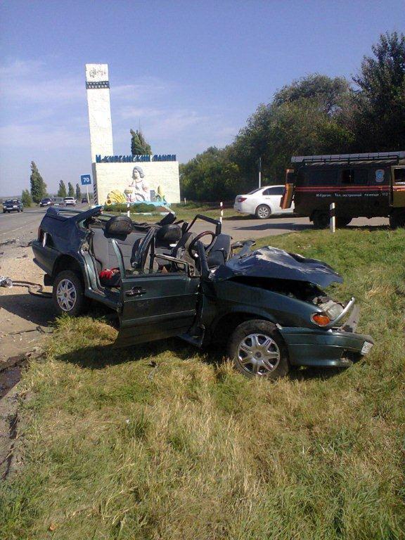 Под Таганрогом при столкновении «ВАЗ-2115» и Toyota Mark II погиб человек