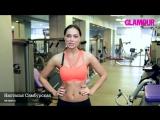 Упражнения для мышц груди_ видео от Настасьи Самбурской