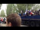 Рейд батальона Восток на санаторий Шахтерские зори, где засела Нацгвардия Донецк, 9 мая 2014