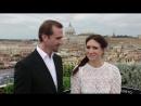 RISEN - Joseph Fiennes  Maria Botto Visit the Vatican