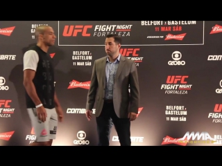 UFC Fight Night 106 Media Day Staredowns