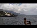 Черное море, набережная Фороса, Крым