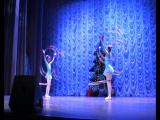 Цирковая акробатика, Анжелина и Варя, 17.12.2016