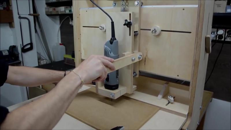 Как сделать компактный многофункциональный станок