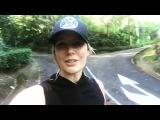 Елена Летучая занимается спортом утром в Коста-Рике