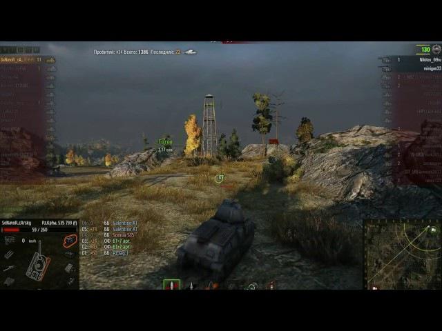 [MID] Реплей WoT — PzS35, SeNaToR_cArsky: Один против тринадцати