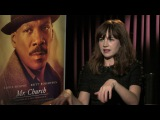 Britt Robertson ('Mr. Church') dishes her new starring role and working with Eddie Murphy