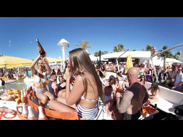Ocean Beach Ibiza Operning Party in 360 VR360 Sensations