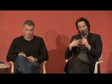 John Wick: Chapter 2: press conference with Keanu Reeves & Chad Stahelski