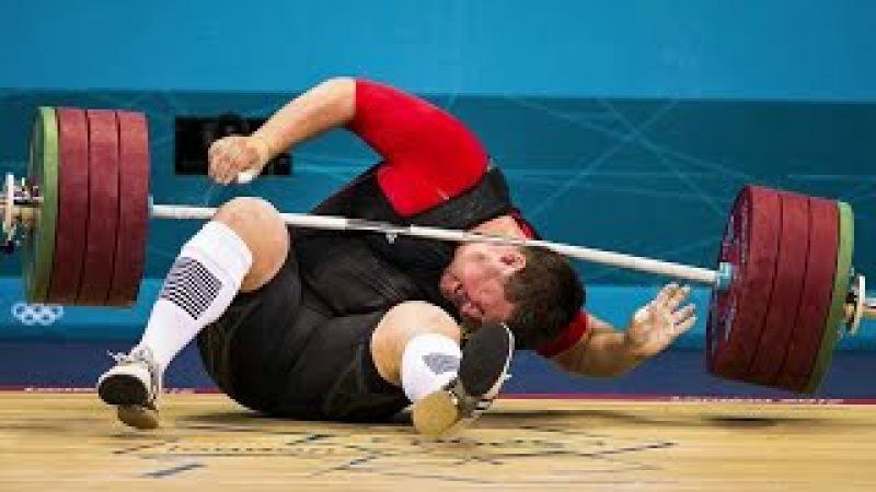 ШТАНГА МОЖЕТ УБИТЬ! Железо ломает атлетов