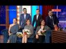 Бизнес по-казахский фильмінің актерлары Түнгі студияда 2017