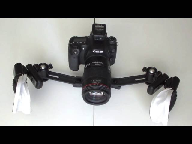 How to make a twin flash bracket system for macro dental photography