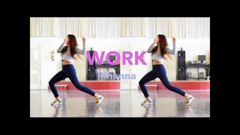 Work - Rihanna Dance Cover @MattSteffanina Choreography