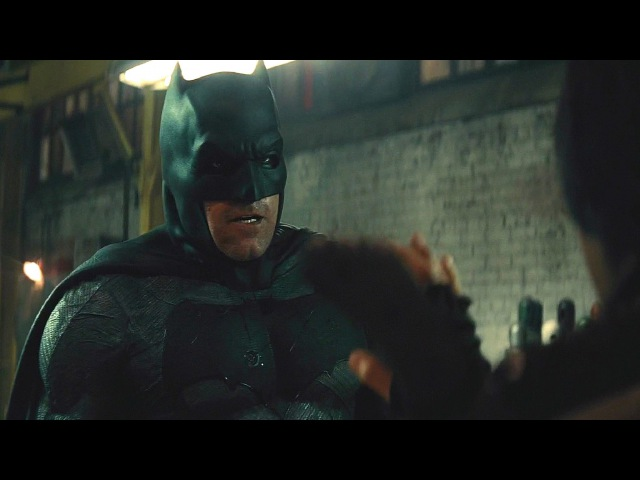 Batman V Superman ''Batman Saves Martha - WareHouse Scene'' 1080p