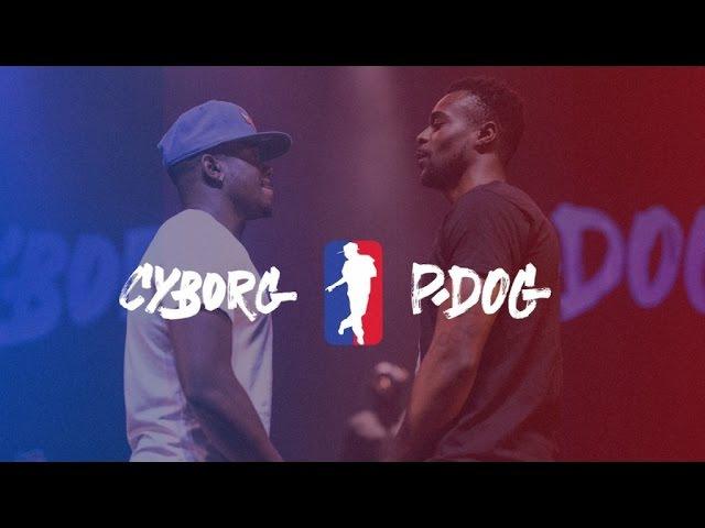 CYBORG vs P.DOG | I LOVE THIS DANCE ALL STAR GAME 2016