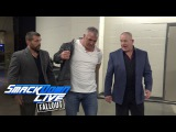 Shane McMahon walks out of SmackDown LIVE on his own two feet SmackDown LIVE Fallout, Mar. 14, 2017