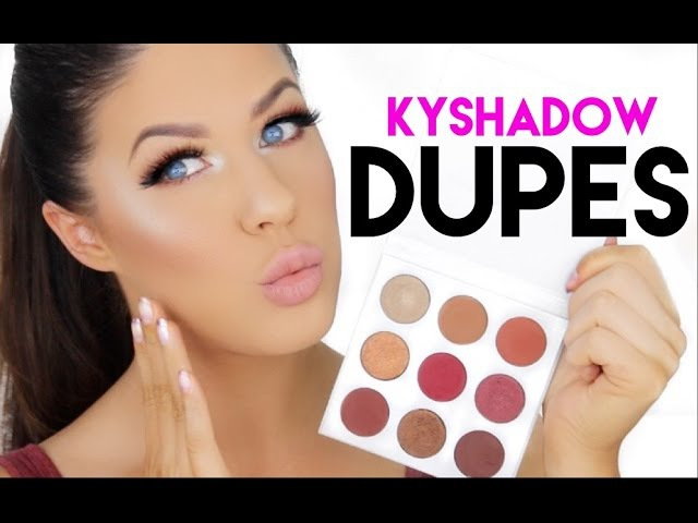 KYSHADOW BURGANDY PALETTE, REVIEW AND DUPES!!