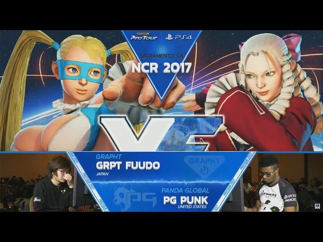SFV: GRPT Fuudo vs PG Punk - NCR 2017 Losers Finals - CPT 2017