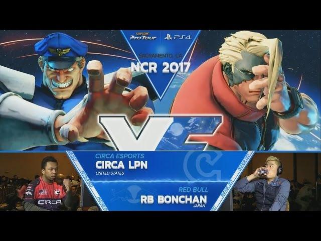 SFV: EG Chris G vs GRPT Fuudo - NCR 2017 Top 8 - CPT 2017