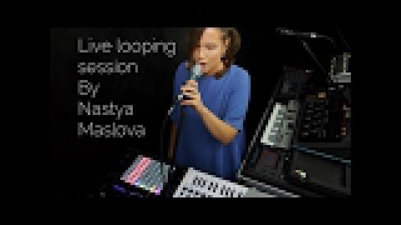 Arturia Minilab Mk2 - Live looping by Nastya Maslova - How can I