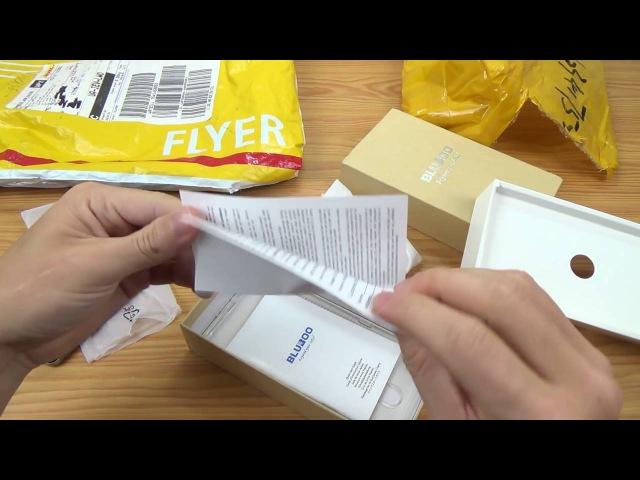 "Bluboo Maya Max 4G Phablet 6"" Дюймов $150 Посылка из Китая! Видео Обзор"