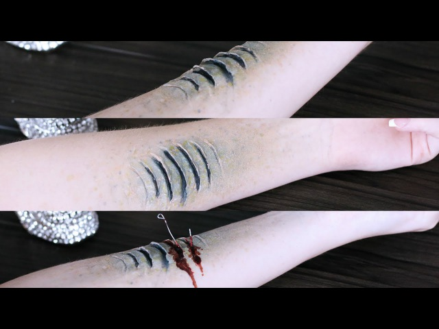 How to Make Mermaid Gills | Halloween Special FX Series 2016