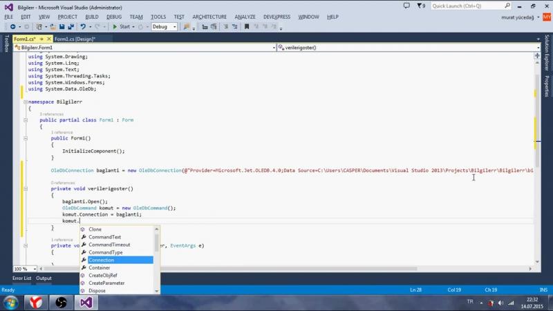 C Ders 85 Application StartUpPath Komutu