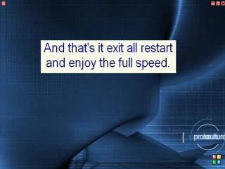 Снять ограничение пропускной способности (Windows XP)