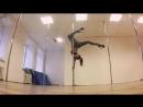 Exotic Pole Dance - Nina K Kozub! Tricks!