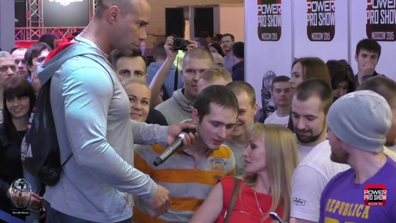 Kevin Levrone Dexter Jackson in Moscow _ Кевин Леврони и Декстер Джексон в Москве _ Pro BB World