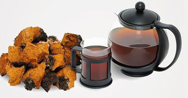 Чай из березовой чаги