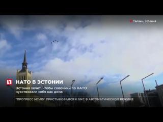 Эстония хочет, чтобы союзники по НАТО чувствовали себя как дома