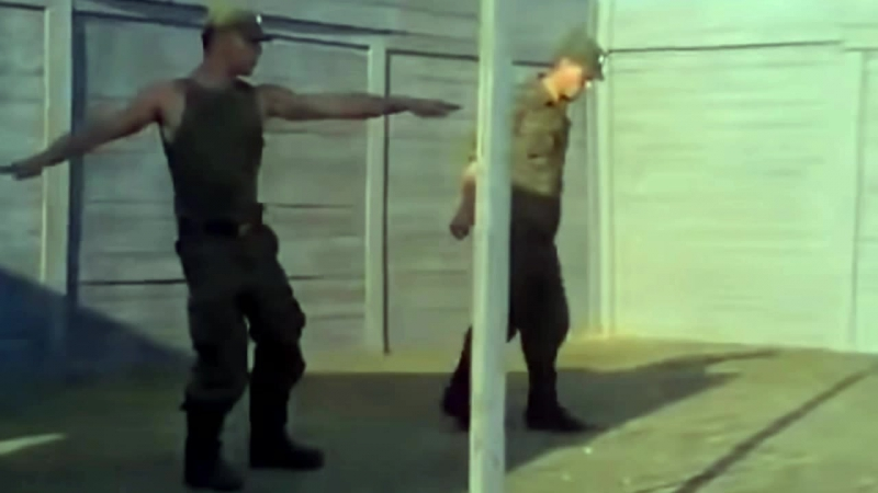 Lucenzo Qwote - Danza Kuduro (Throw Your Hands Up) ft Pitbull (Russian army dancing) (homemade video)