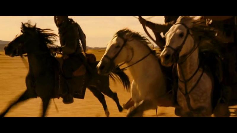 Арн Рыцарь тамплиер 2007 Схватка крестоносцев с разбойниками в пустыне 1177 год