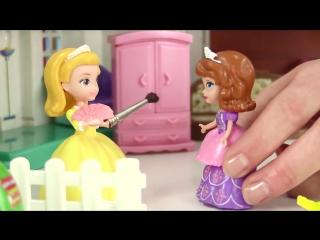 Машины сказки. Логопедические занятия для детей. Красящие София и Эмбер кукольный театр