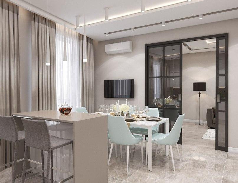 Проект квартиры в Москве