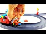 ✿ Веселые паровозики из Чаггингтона (игрушки) - Учим цифры - развивающий мультик