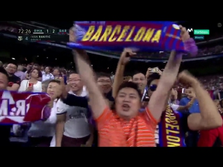 Испания ЛаЛига Реал Мадрид - Барселона 2:3 обзор  HD