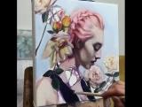 Рисунок талантливой художницы. ?