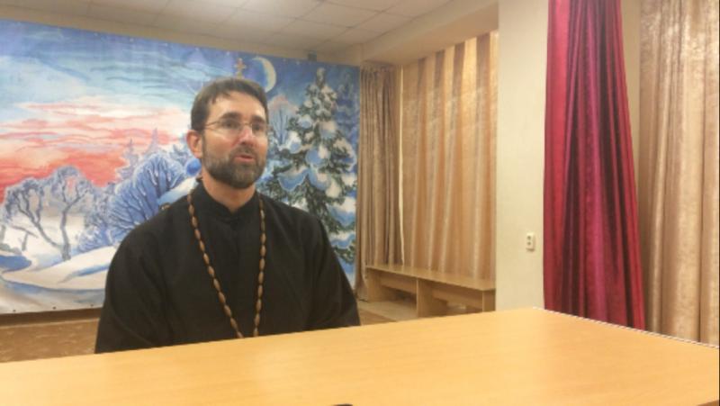Беседа с клириком Свято-Никольского храма города Амстердама Русской Православной церкви отцом Хилдо