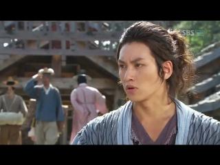 18 Воин Пэк Тон Су Озвучка GREEN TEA [480p]