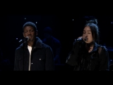 Noah Cyrus &amp Labrinth - Make Me (Cry) (Live on The Tonight Show starring Jimmy Fallon)