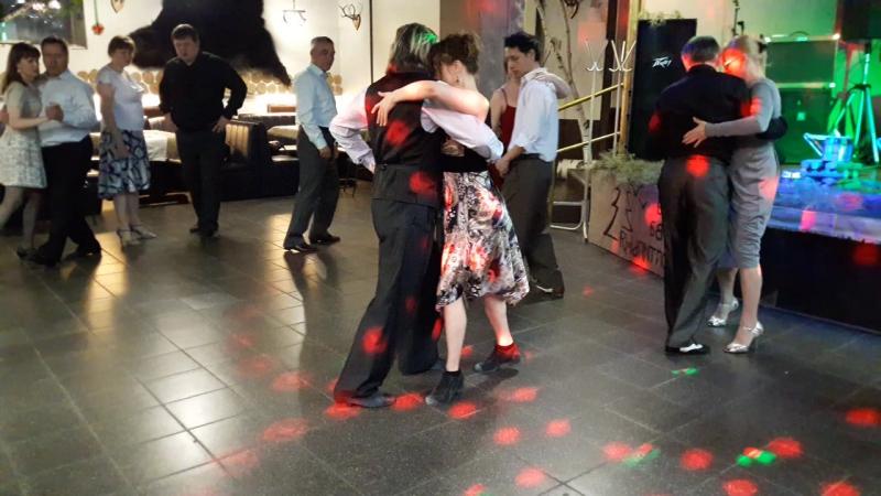 Открытый урок по танго канженге с Алексеем Барболиным