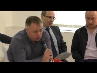 Пресс-конференция Дальнобойщиков по забастовке в Новой Газете
