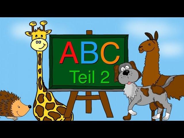 ABC Lied - Buchstaben lernen von G-L - Alphabet - Kinderlieder deutsch - Phonics song